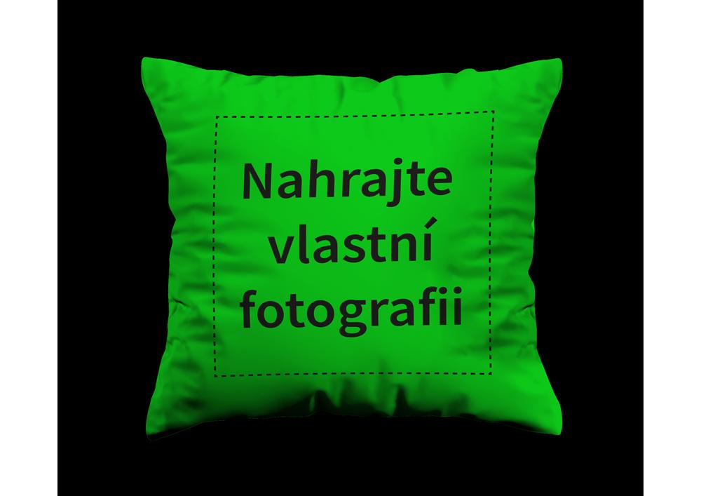 Zelený polštář - Vlastní foto