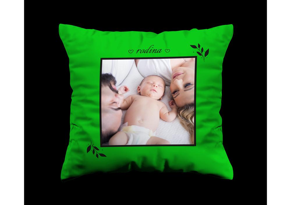Zelený polštář - Rodina