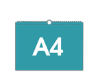 A4 na šířku