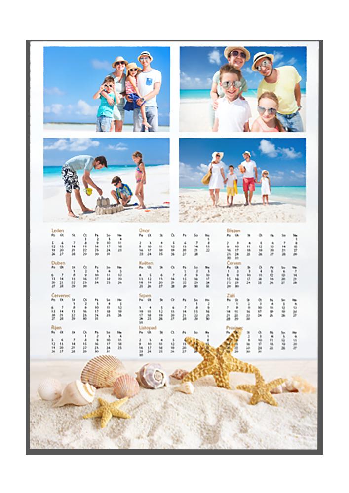 Roční fotoplakát A3 - Mořský písek