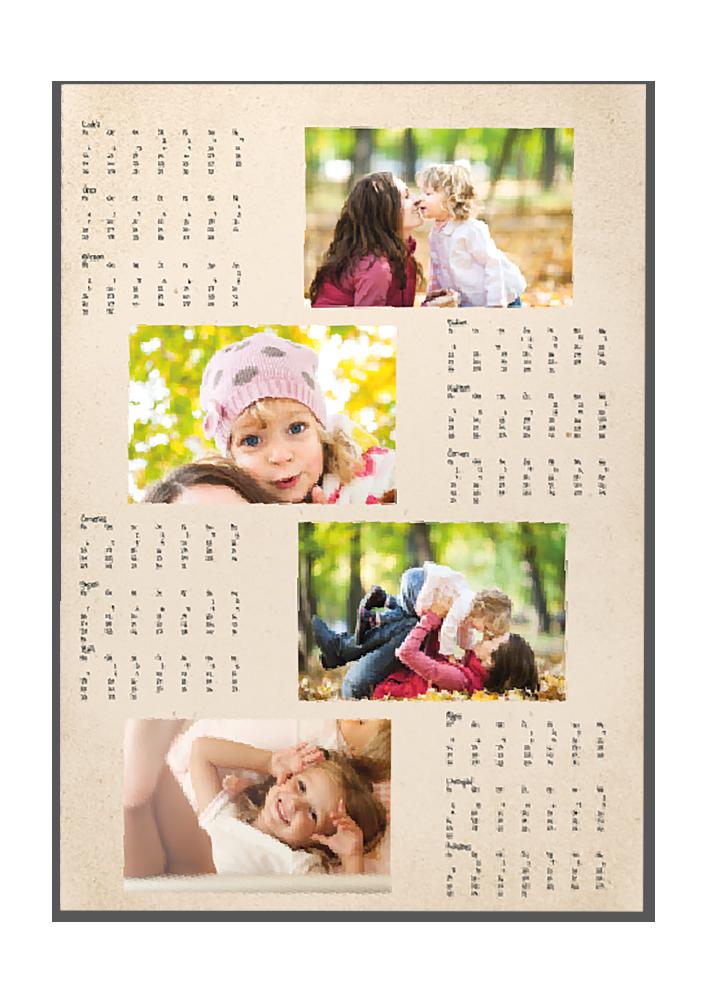 Roční fotoplakát A3 - Podzim