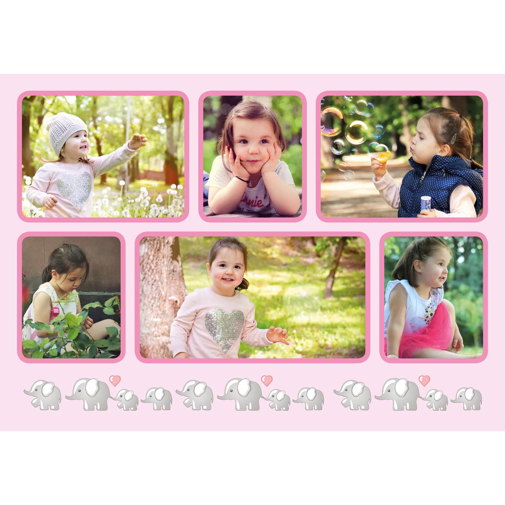 Dětská růžová
